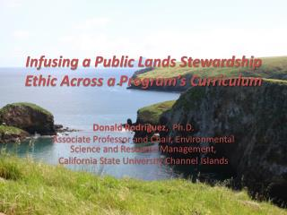 Infusing a Public Lands Stewardship Ethic Across a Program's Curriculum