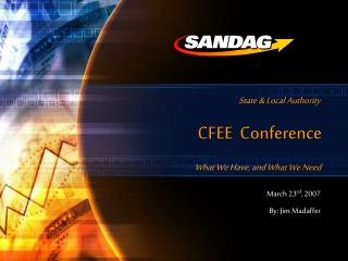 CFEE  Conference