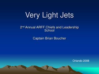 Very Light Jets