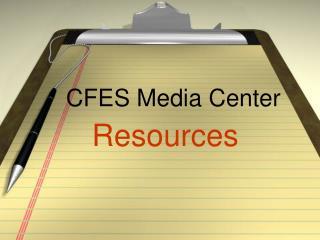 CFES Media Center