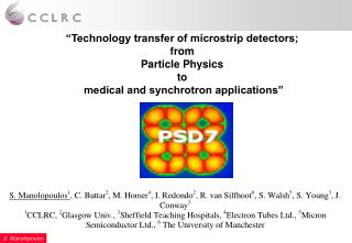 HEP detectors - The microstrip