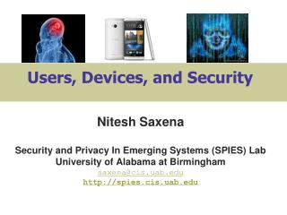 Users, Devices, and Security