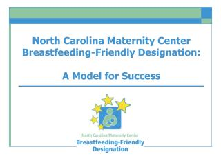 North Carolina Maternity Center Breastfeeding-Friendly Designation: A Model for Success
