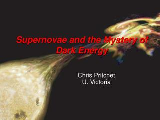 Supernovae and the Mystery of Dark Energy