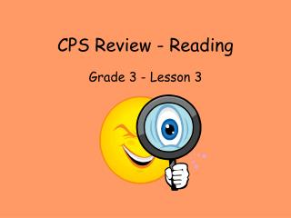 CPS Review - Reading