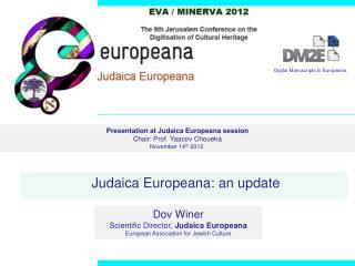 Judaica Europeana: an update