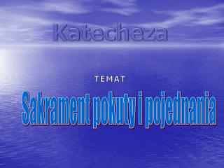 Katecheza Temat