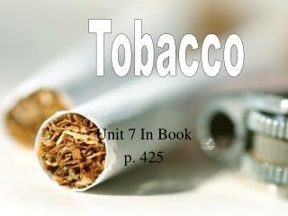 Unit 7 In Book p. 425