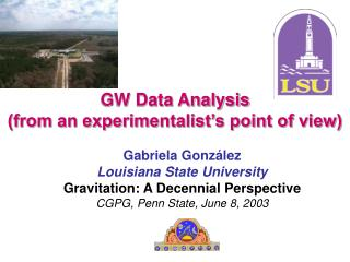 GW Data Analysis (from an experimentalist's point of view)