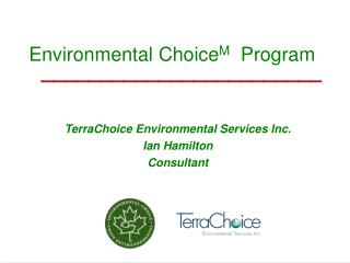 Environmental Choice M   Program
