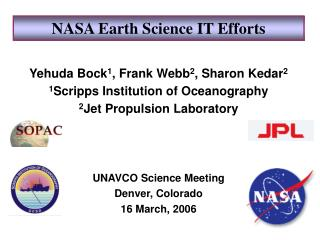 NASA Earth Science IT Efforts