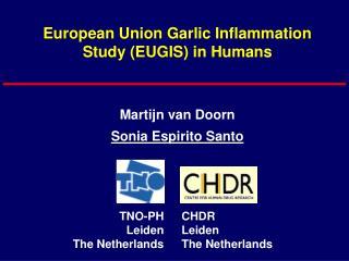 European Union Garlic Inflammation Study (EUGIS) in Humans