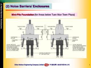 (2) Noise Barriers/ Enclosures