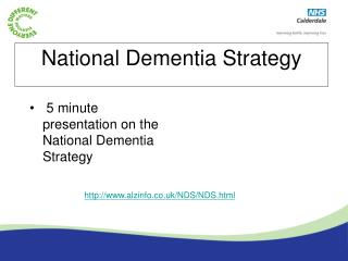 National Dementia Strategy