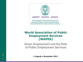 World Association of Public Employment Services (WAPES)