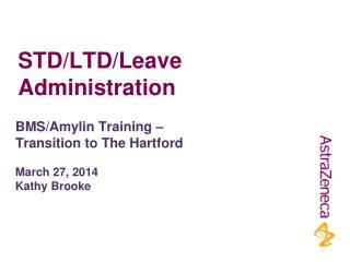 STD/LTD/Leave Administration