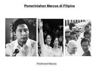 Pemerintahan Marcos di Filipina