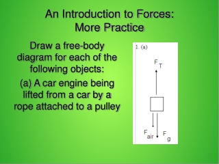 Newton s 1st and 2nd laws of Motion