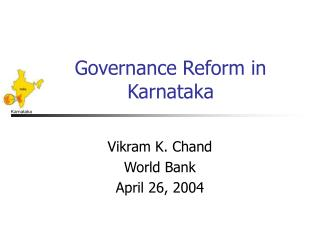Governance Reform in Karnataka