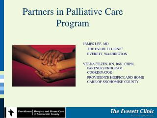 Partners in Palliative Care Program