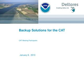 Backup Solutions for the CAT