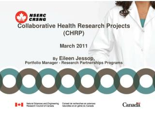 Collaborative Health Research Projects (CHRP) March 2011