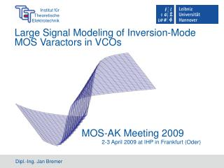 Large Signal Modeling of Inversion-Mode MOS Varactors in VCOs
