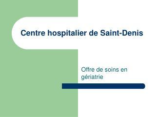 Centre hospitalier de Saint-Denis