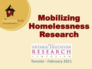 Mobilizing Homelessness Research