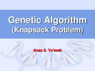 Genetic Algorithm (Knapsack Problem)