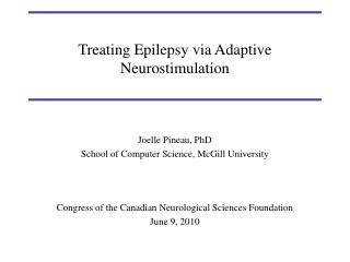 Treating Epilepsy via Adaptive Neurostimulation