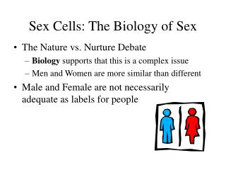 Sex Cells: The Biology of Sex