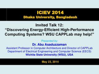 Invited Talk 12: