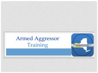 Armed Aggressor Training