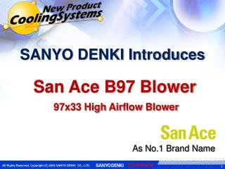 SANYO DENKI Introduces