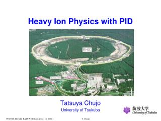Heavy Ion Physics with PID