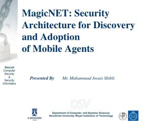 MagicNET: Security Architecture for Discovery and Adoption of Mobile Agents