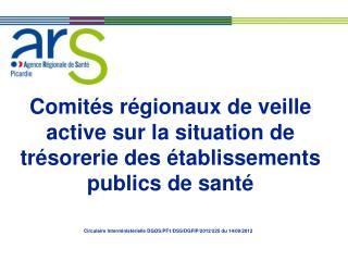 Circulaire Interministérielle DGOS/PF1/DSS/DGFIP/2012/225 du 14/09/2012