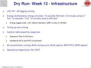 Dry Run- Week 13 - Infrastructure