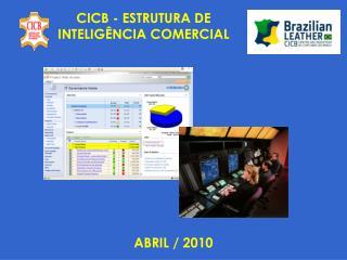 CICB - ESTRUTURA DE   INTELIGÊNCIA COMERCIAL