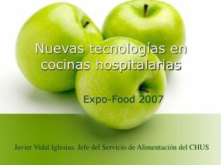 Nuevas tecnologías en cocinas hospitalarias