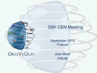 33th CEN Meeting