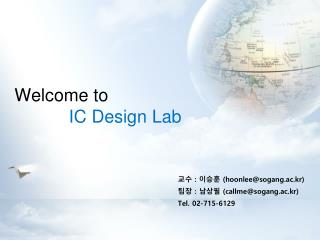 Welcome to IC Design Lab