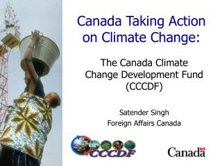 Canada Taking Action on Climate Change: