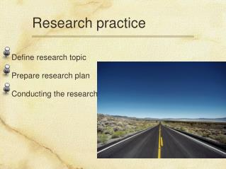 Research practice