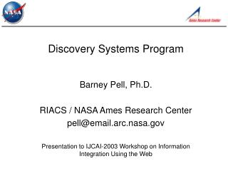 Discovery Systems Program