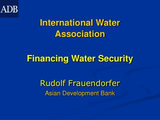 International Water Association
