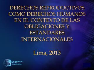 INDICADORES BASICOS DE SALUD DE AMERICA LATINA Y EL CARIBE (2010)