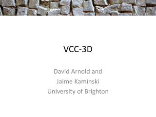 VCC-3D