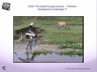 CIDA: The world through pictures  – Pollution Development challenges  # 1